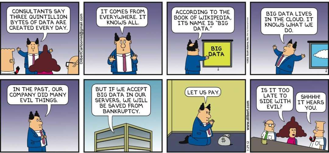 The Legend of Big Data
